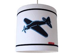 Hanglamp Vliegtuig wafelstof