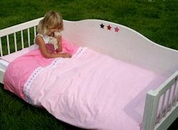 Kinderdekbedovertrek Romantic pink