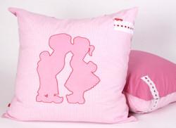 Loungekussen Dutch pink
