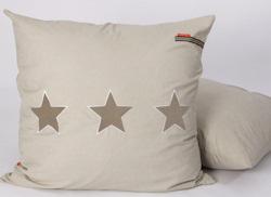 Lounge kussen Stars pure beige