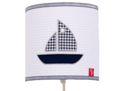Wandlamp Sailboat blue
