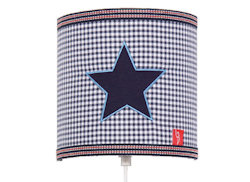 Wandlamp Star blue