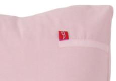 Junior dekbedovertrek Sweetheart pink detail