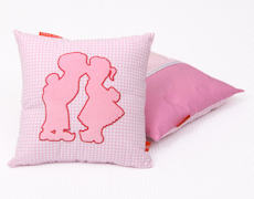 Kinderdekbedovertrek Dutch pink kussenhoes