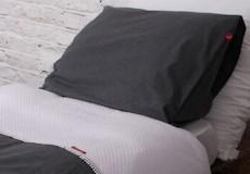 Kinderdekbedovertrek Ibiza antracite grey kussenhoes