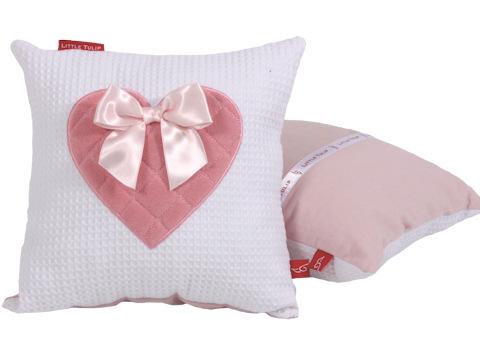Knuffelkussen Sweetheart pink