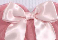 Knuffelkussen Sweetheart pink applicatie