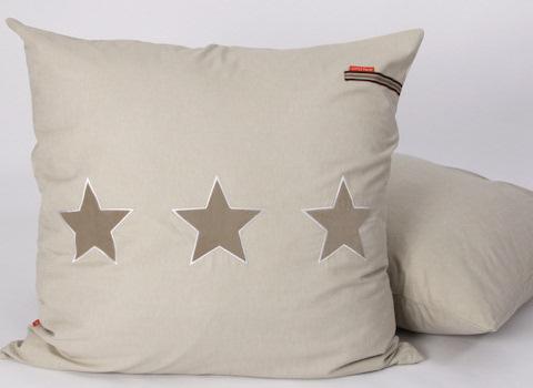 Loungekussen Stars beige