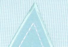 Sierkussen Star aqua applicatie