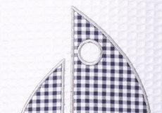 Hanglamp Sailboat blue applicatie