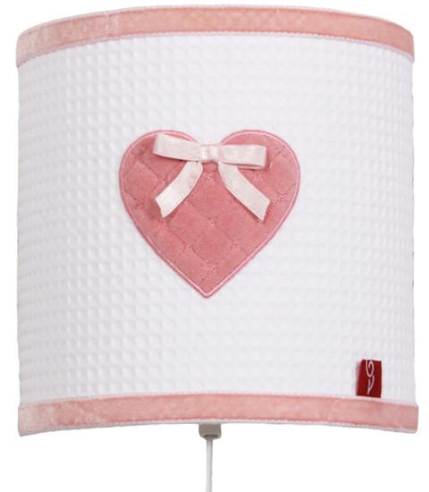 Wandlamp Sweetheart pink