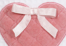 Wandlamp Sweetheart pink applicatie