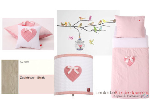 Meisjeskamer roze