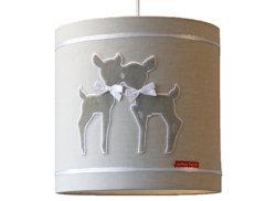 Hanglamp Hertjes beige