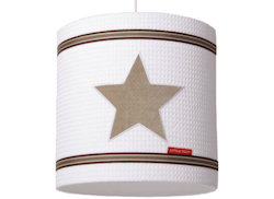 Hanglamp Stars pure beige
