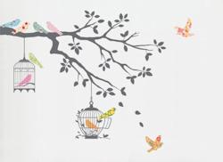Muurstickers Birds