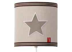 Wandlamp Star pure beige