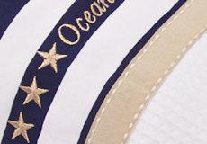 Junior dekbedovertrek Stars and Stripes applicatie