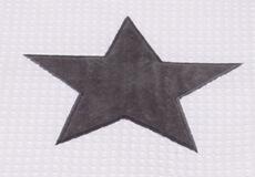 Junior dekbedovertrek Stars cool grey applicatie