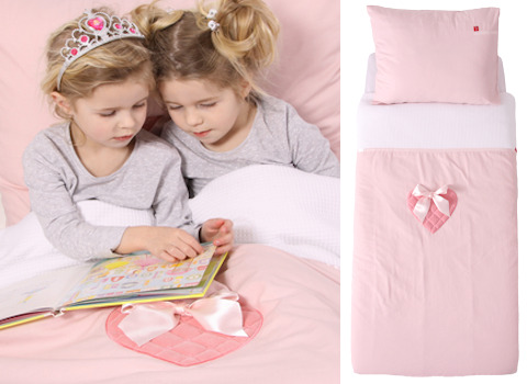 Kinderdekbedovertrek Sweetheart pink