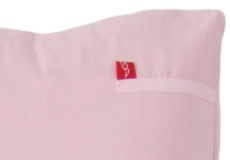 Kinderdekbedovertrek Sweetheart pink detail