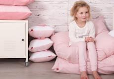 Kinderdekbedovertrek Sweetheart pink kussenhoes