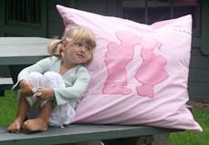Loungekussenhoes Dutch pink sfeer