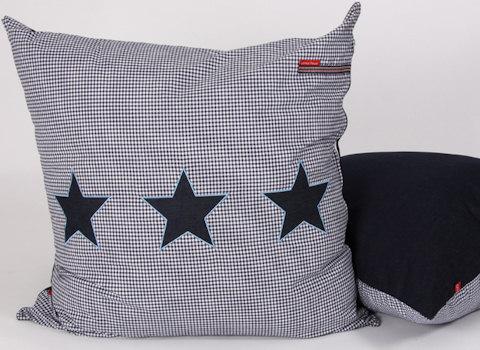 Loungekussen Stars blue