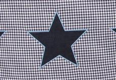 Loungekussenhoes Stars blue applicatie
