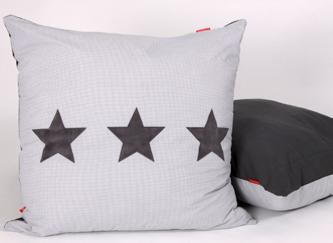 Loungekussenhoes Stars cool grey