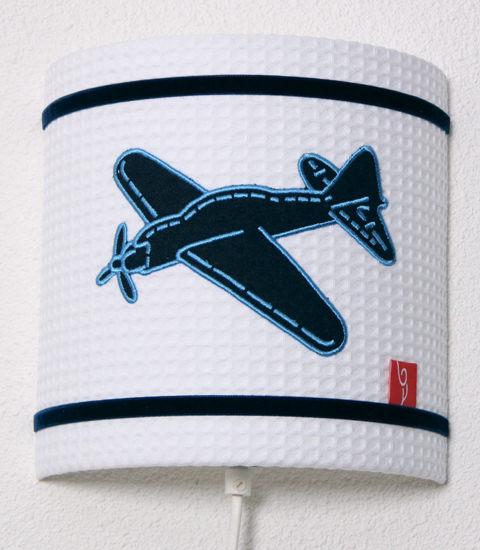 Wandlamp Vliegtuig wafelstof